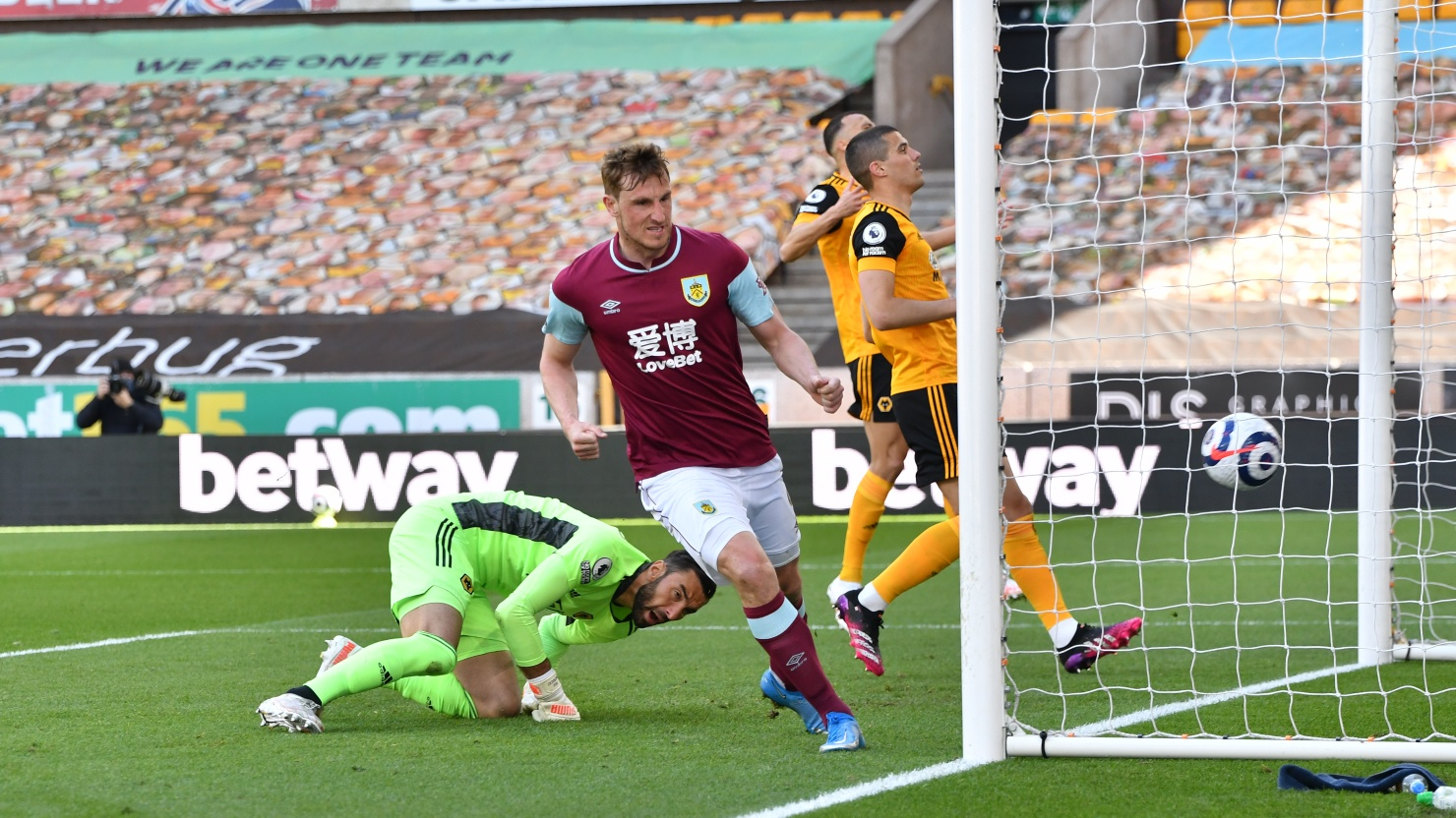 Dyche Hails Goal-den Boy Wood