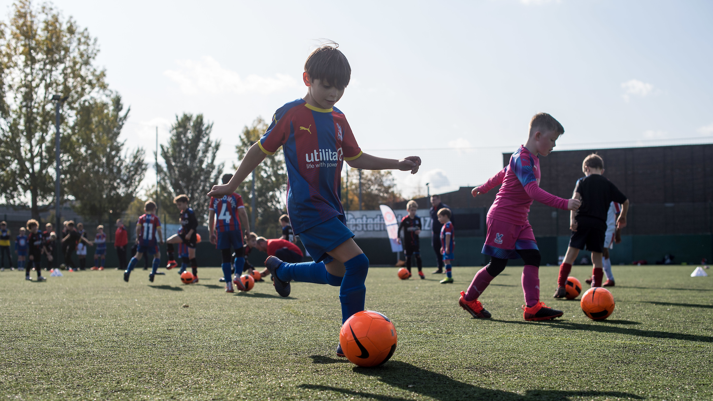 Join Palace for Life Soccer Schools this summer