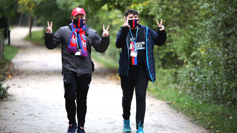 Palace fans mask Marathon March.jpg