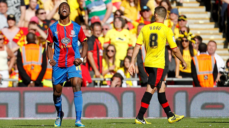 Zaha celebrates Watford play off penalty.jpg