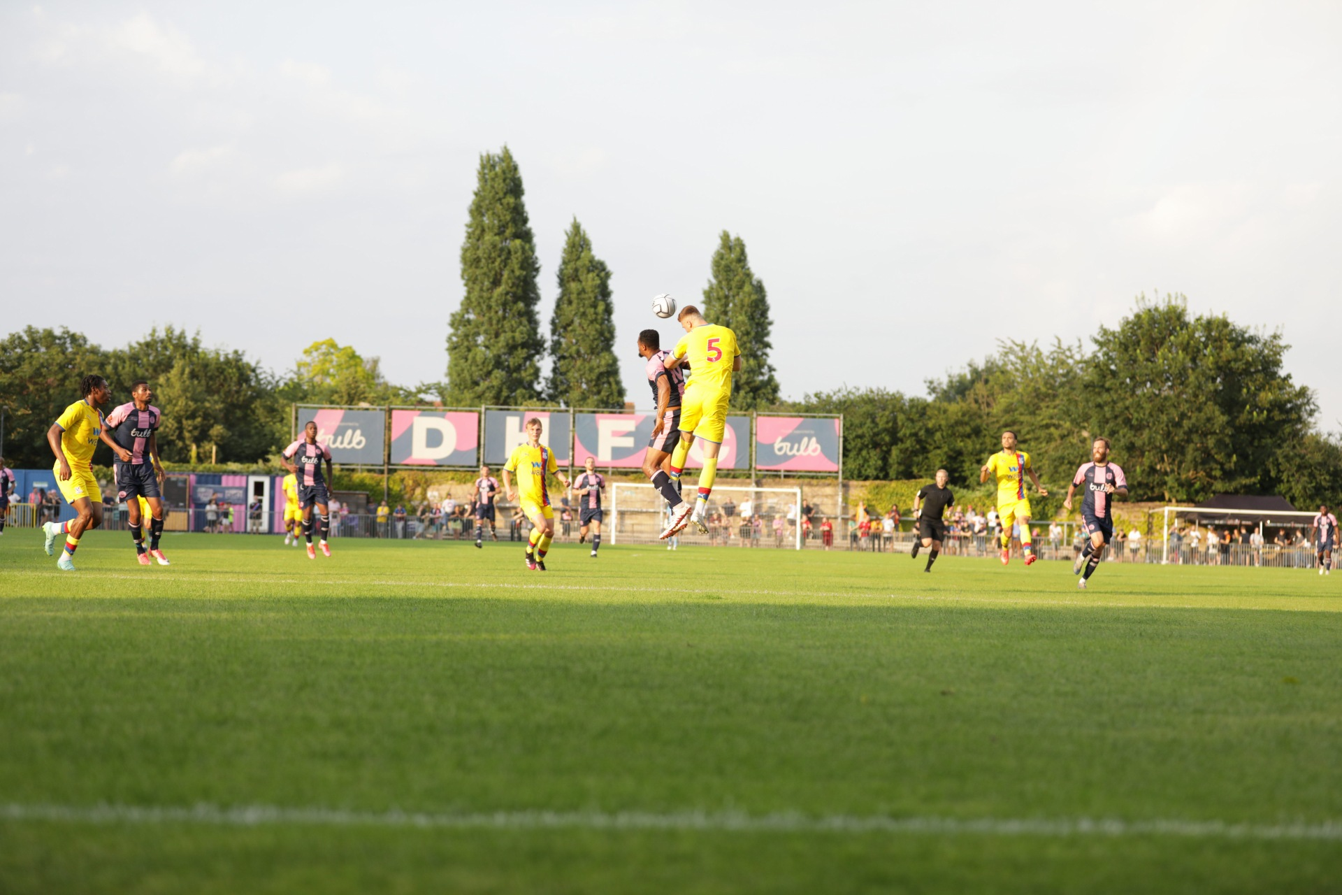 U23s Report: Five-star triumph as young Eagles dispatch Dulwich Hamlet