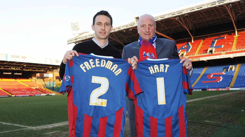 Freedman Hart Palace arrival.jpg