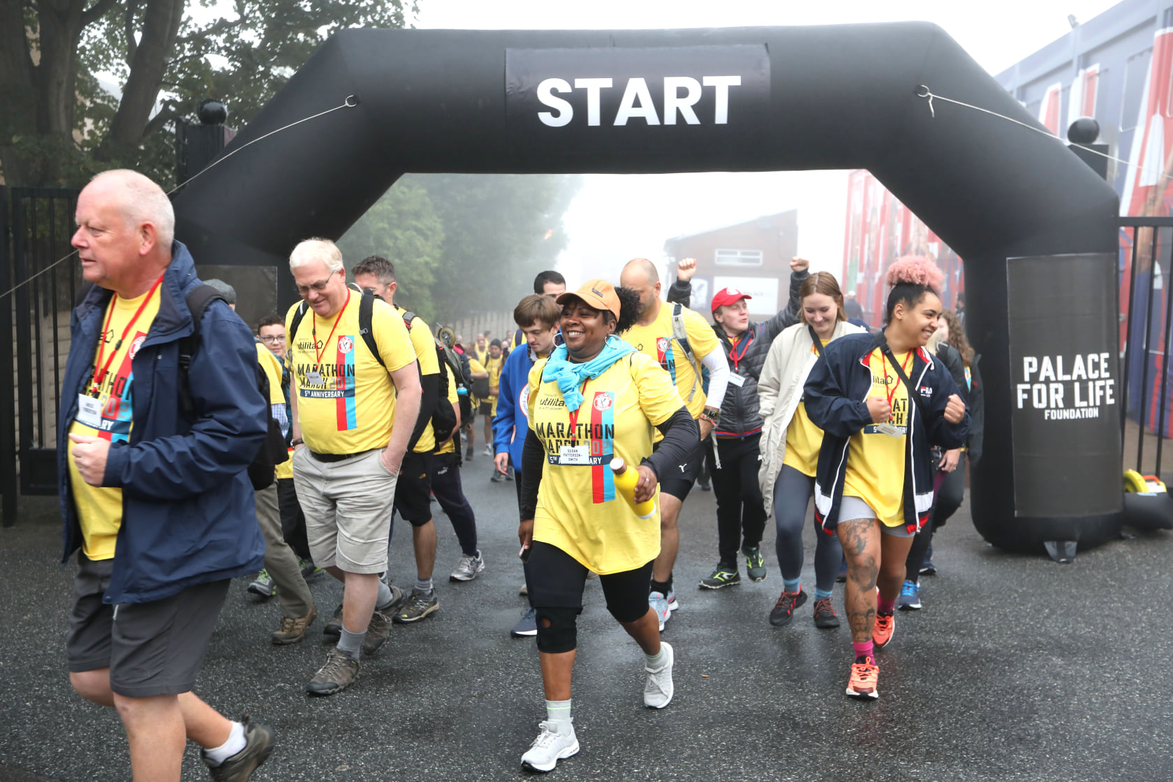 Go behind the scenes of Marathon March as Palace for Life approach target