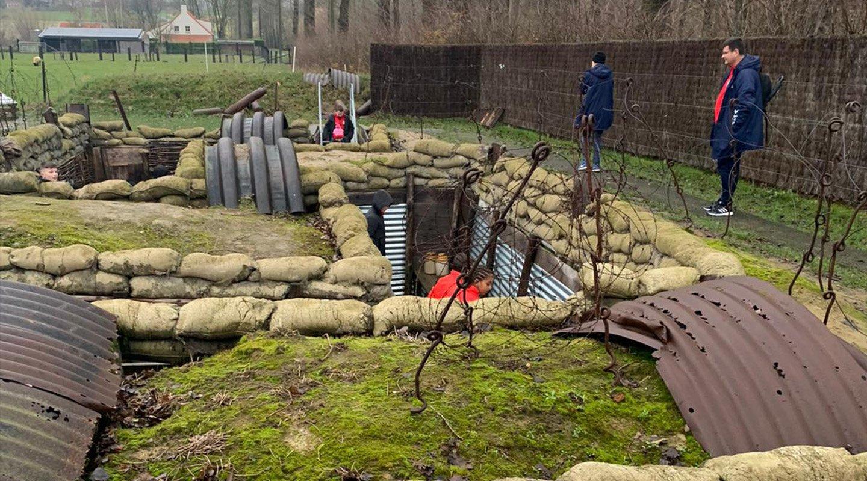 U12s Truce trenches.jpg