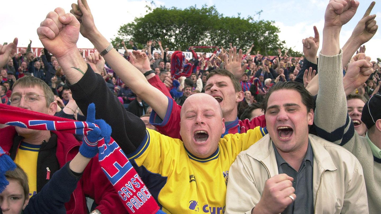 Stockport 0-1 Crystal Palace - 20 Years On - Fans celebrating.jpg