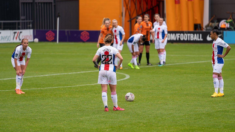 London Bees v Palace Women 02 Haines free-kick.jpg