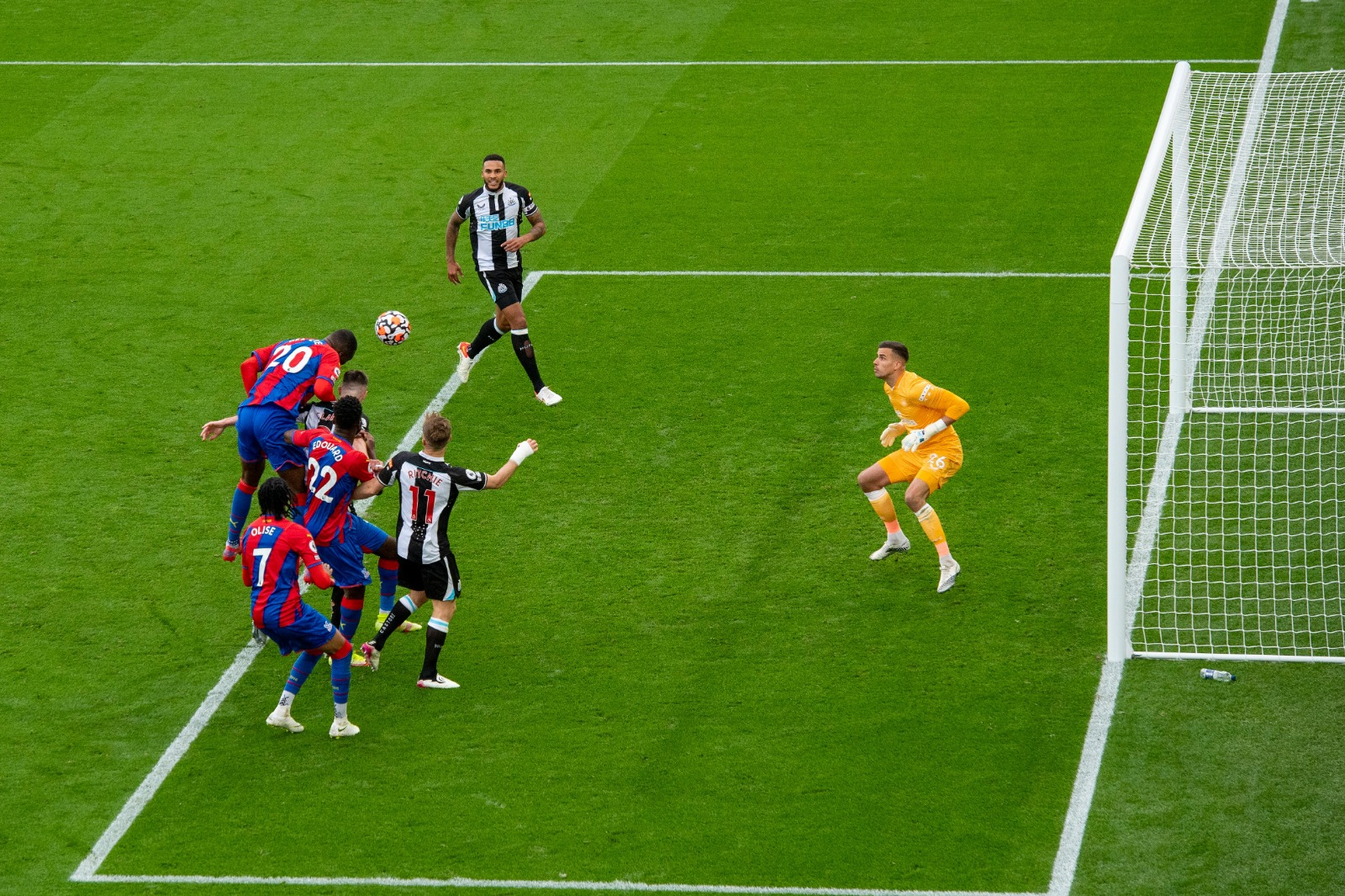 Report: Dominant Palace held level by resolute Newcastle side