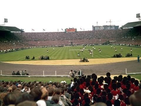Wembley: FA Cup Final 1962 Burnley v Spurs