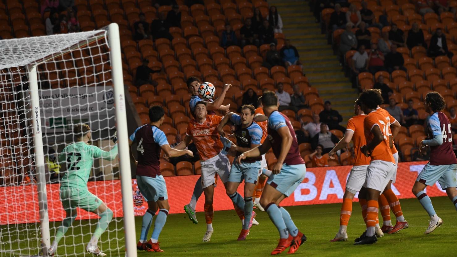 Report: Blackpool 0 Burnley 1