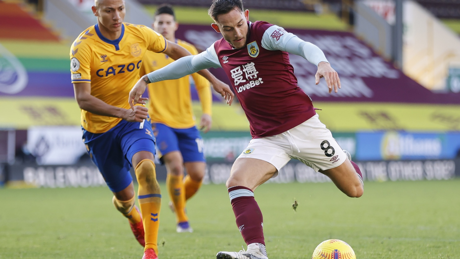 Brownhill Backs Burnley Experience