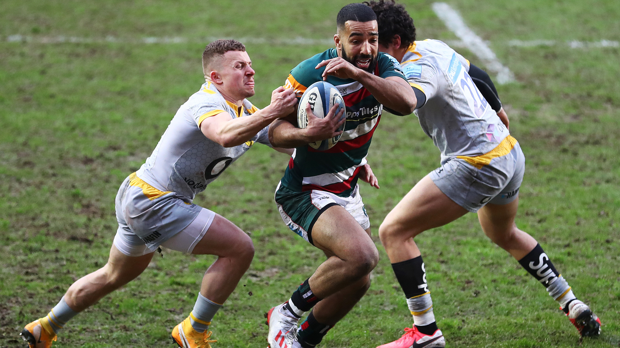 Image result for leicester tigers vs wasps