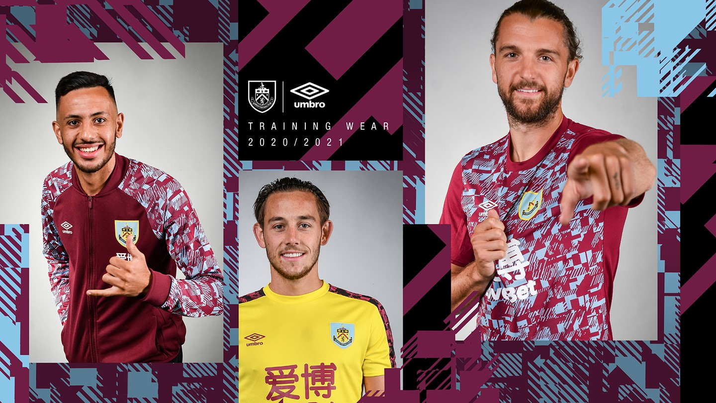 CLARETS STORE | 20/21 Training Wear Now On Sale