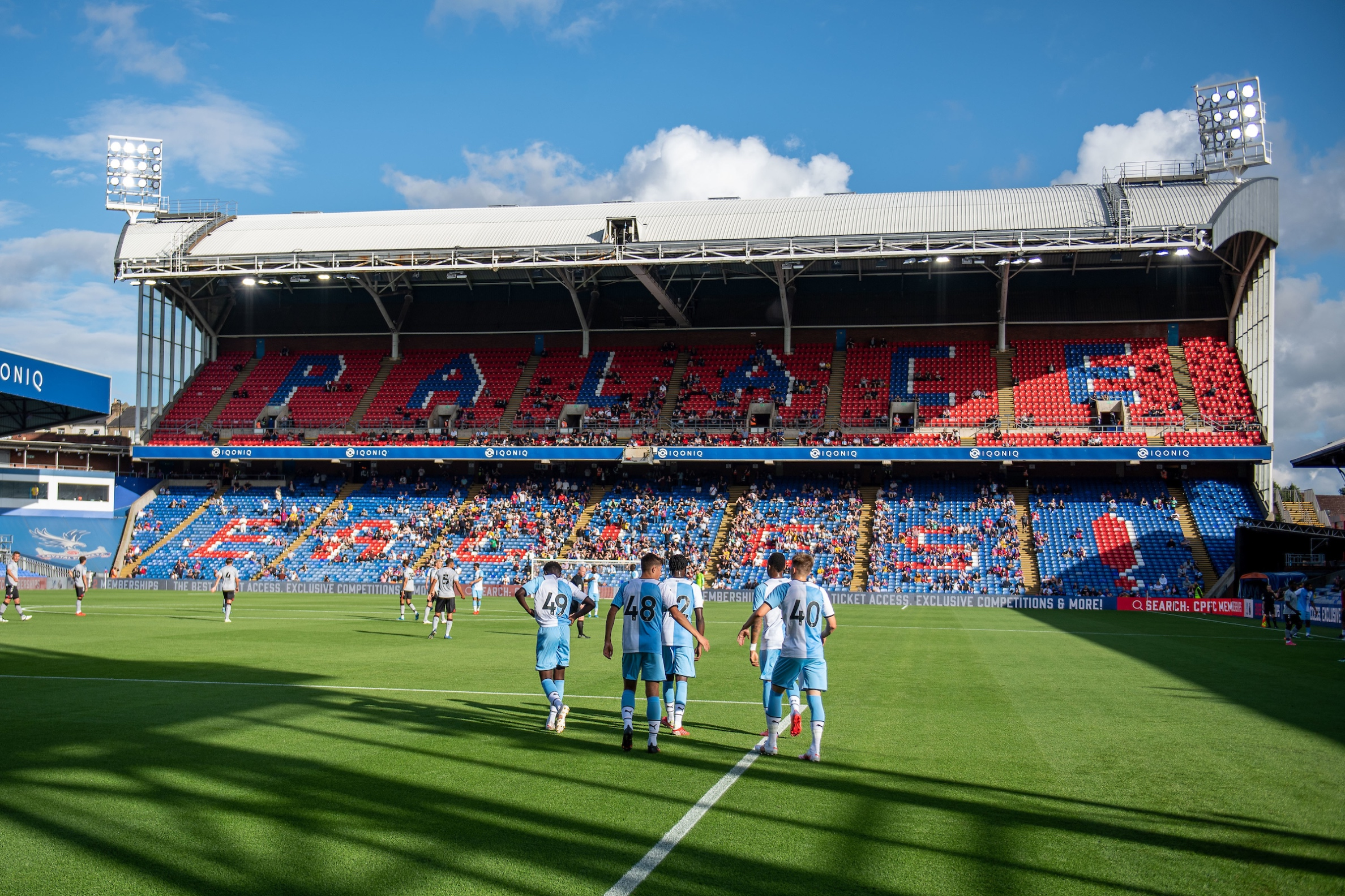 Report: Academy players on target in Vieira's first Selhurst clash